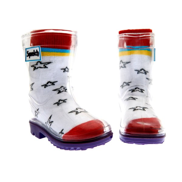 Squelch Wellies Colouring Sock