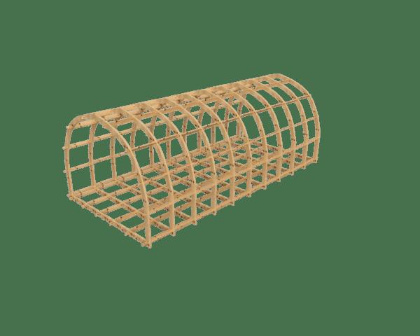 Glamping pod frame kit