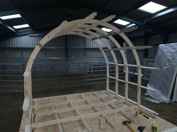 standard glamping pod frame kit