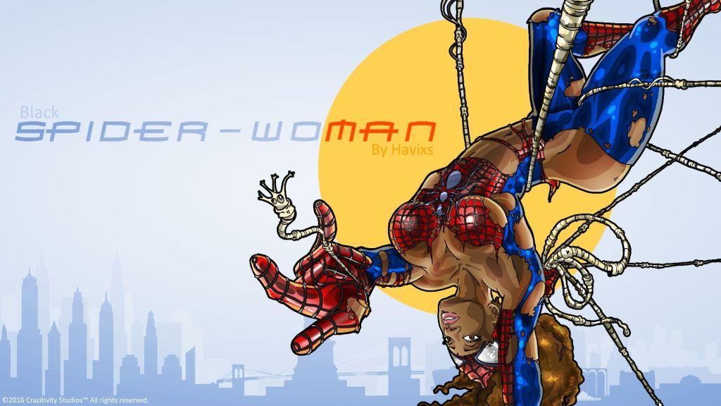Spider-Woman by Havillah Agada
