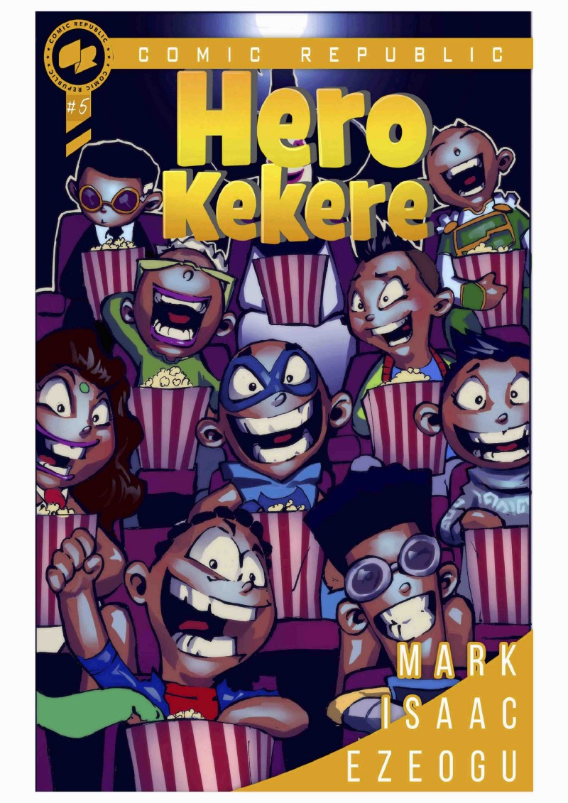 Alternate cover of hero kekere
