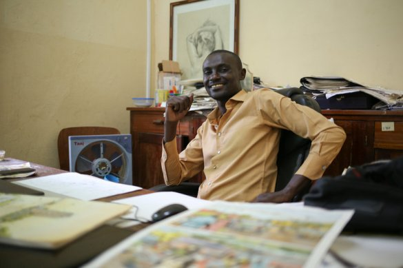Didier Kassai CAR cartoonist