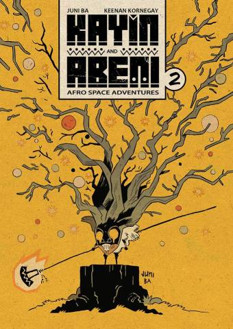 Cover of Kayin and Abeni Issue 2 by Juni Ba
