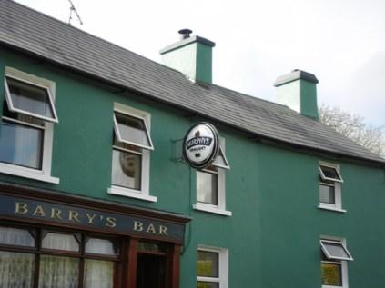 Barry's Bar.