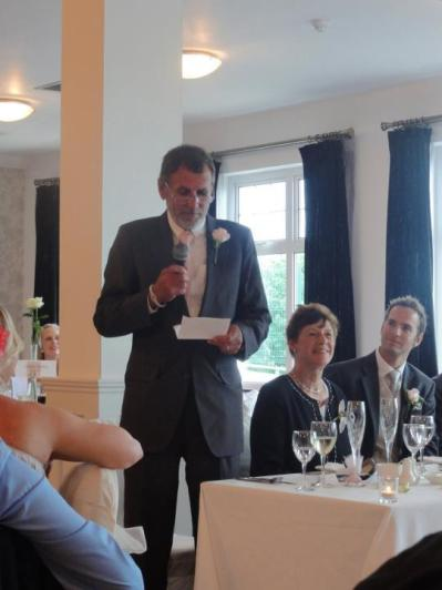 Father of the bride speech.