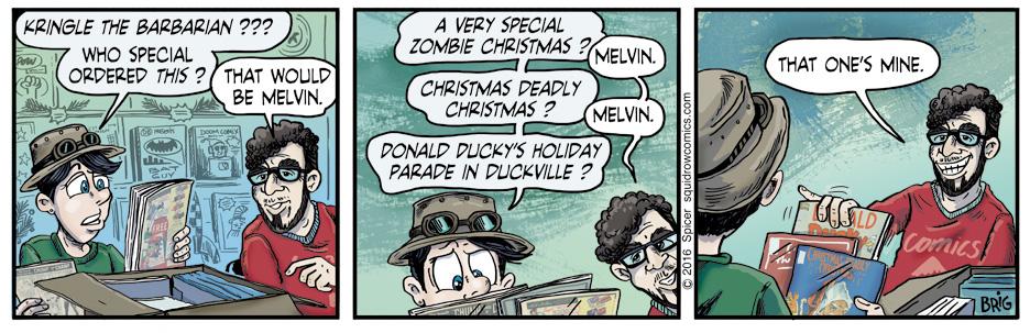 Christmas Comics?