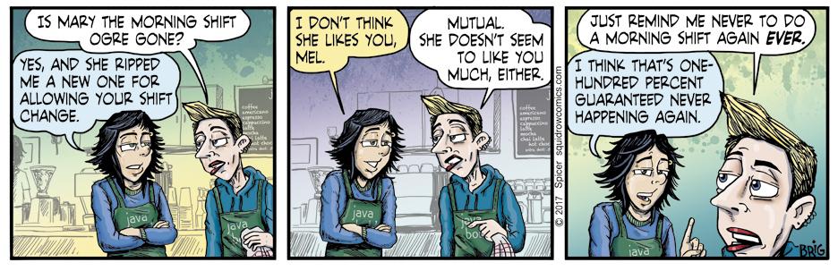 Mutual Disliking