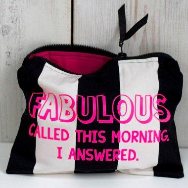Fabulous, darling, just fab!