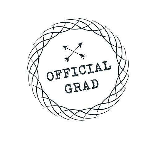 Official Grad Word Art