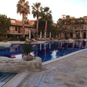 The pool at the resort