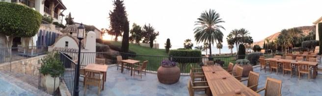 Amazing view of the resort