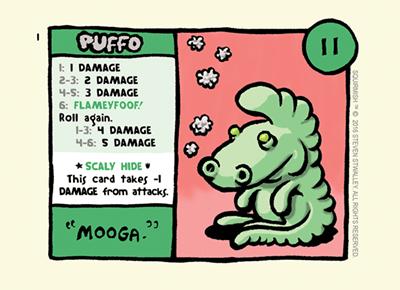 Card 1: Puffo