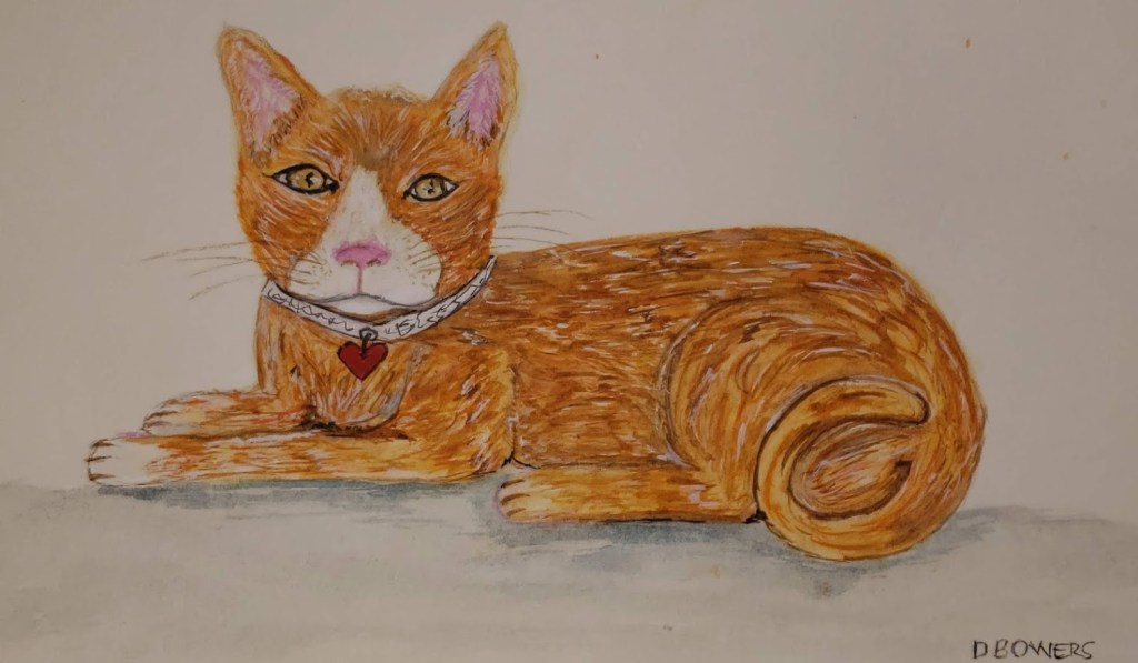 Sept 1 2018 Ginger Cat Day