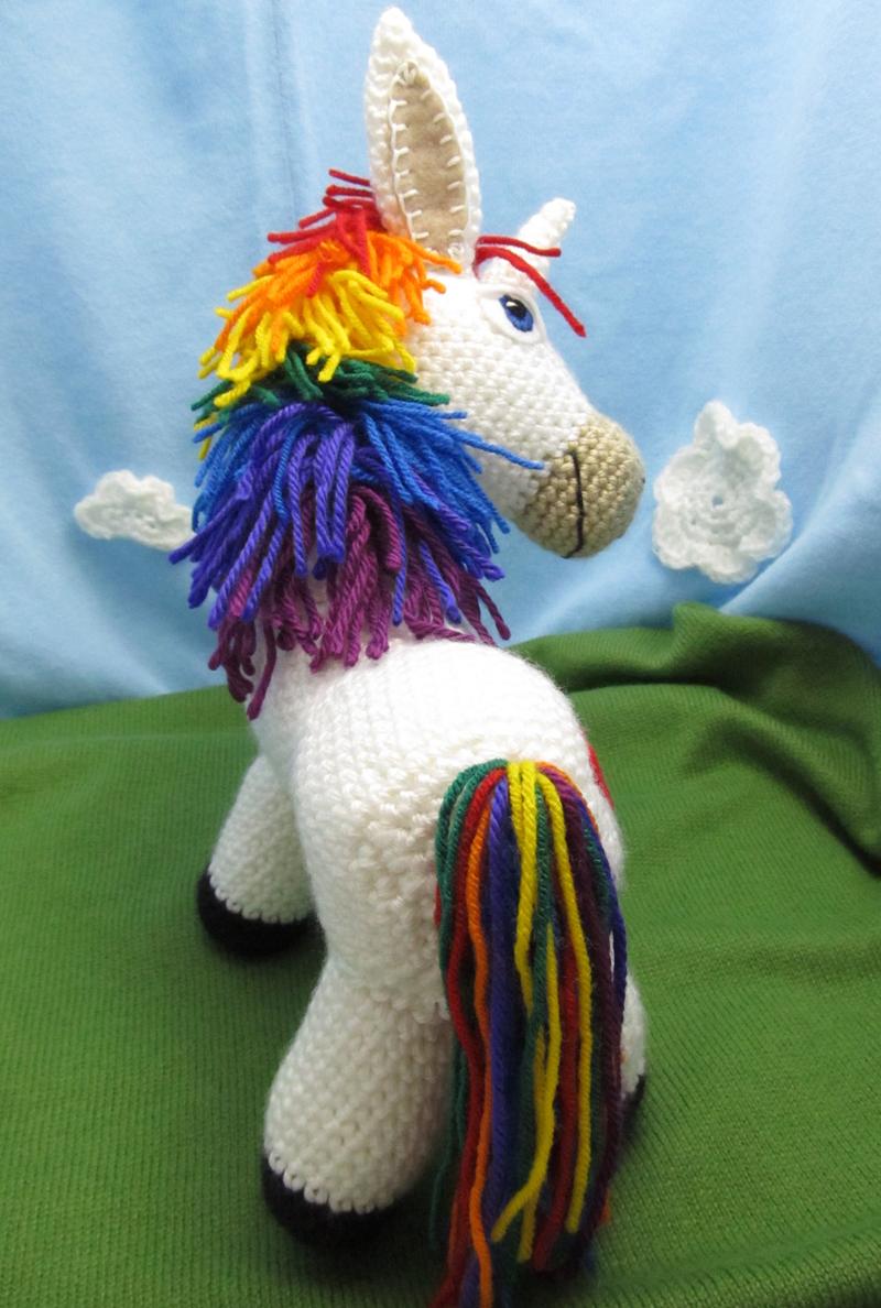 Make It Challenge 7 Rainbow Donkey Squirrel Picnic