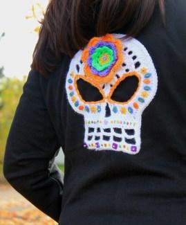 Jennifer Olivarez Skull Art Hoodie 1.1