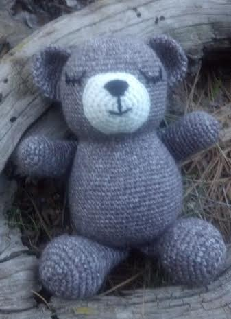 Sleepy Bear Crochet Pattern  Squirrel Picnic