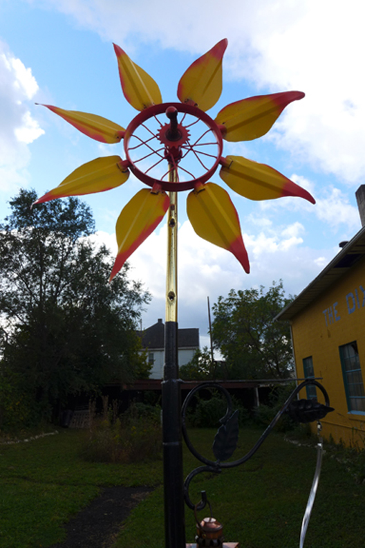 sunflower spinner