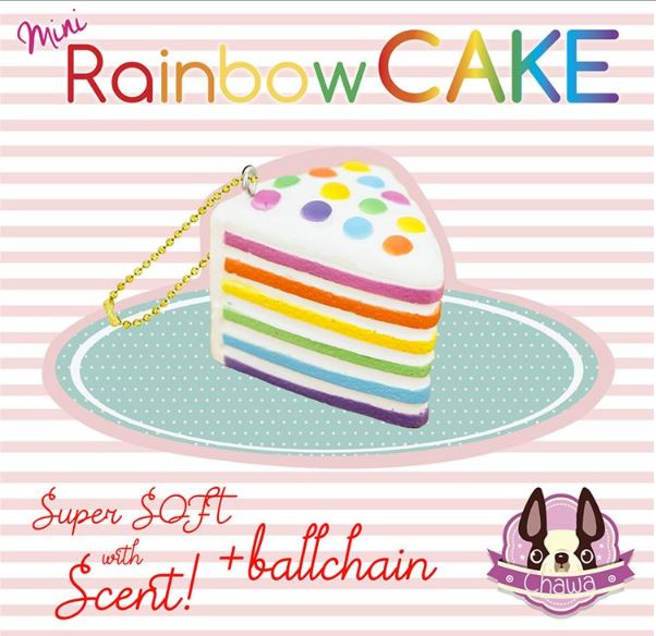 Chawa Rainbow Cake MINI