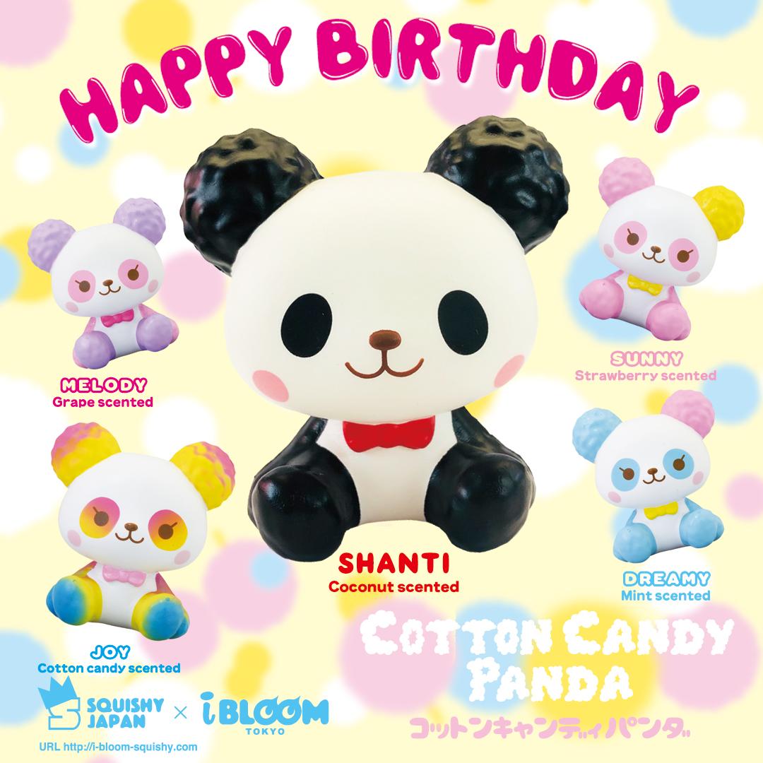 IBloom – Cotton Candy Panda