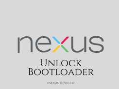 unlock bootloader on nexus