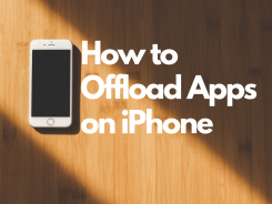 Offload Apps on iPhone