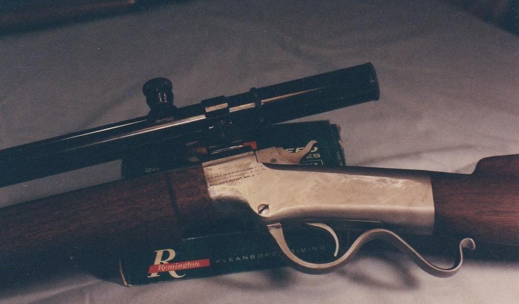 Marlin-Ballard 32-40 Bull Target | Swift River Gunworks