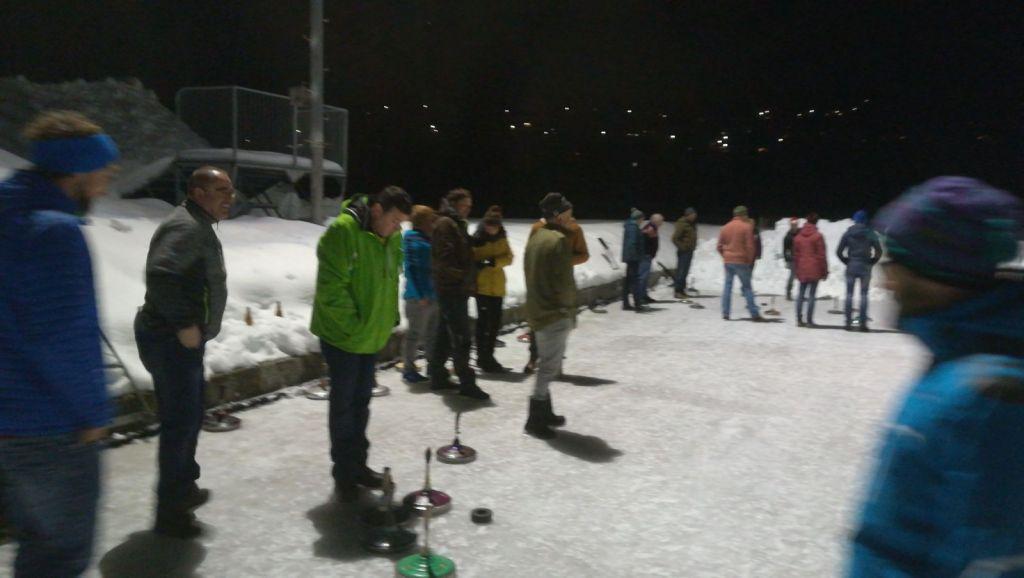 Eisstockpartie ISKR
