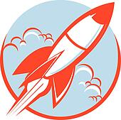 rocket clip art vector graphics