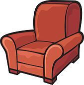 Armchair Clipart and Illustration. 8,834 armchair clip art ...