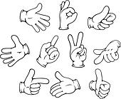 Image result for hand gestures clipart