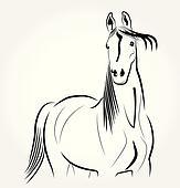 Horse racing Clipart Vector Graphics. 1,592 horse racing