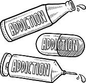 Drug addiction Illustrations and Clipart. 2,895 drug