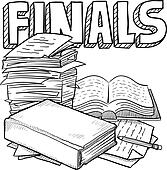 Final exam Illustrations and Clip Art. 52 final exam