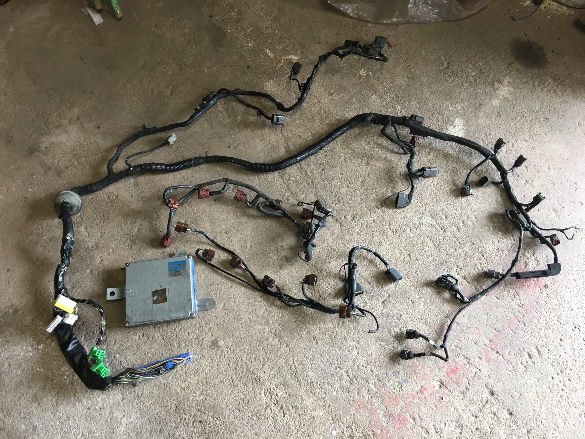 hight resolution of rb20det uncut harness and ecu driftworks forum 1jzgte wiring harness jpg img 1974 jpg