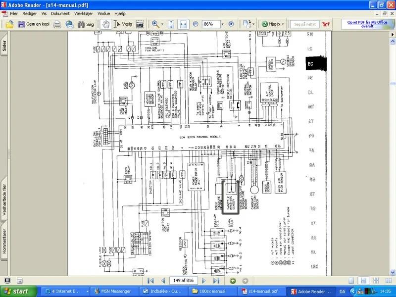 Sr20det Wiring Diagram S13 Sr20det Wiring Harness Install Wiring