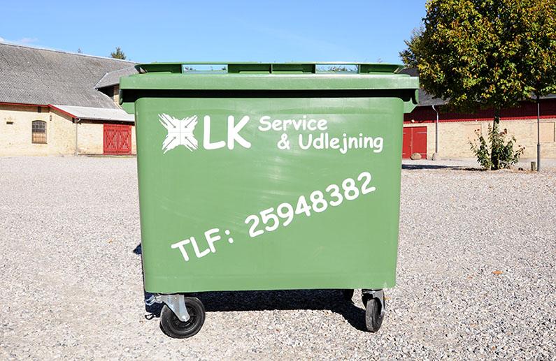 Affalds container
