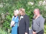 Jill, Charlie & Andy, Bethanga 2008