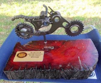 People's Choice trophy, Bethanga 2012