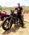 Gary, and his supercharged SR, Bethanga 2012