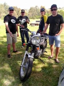 Tony, Andy, Canis & Ryan, Bethanga 2012