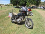 Mark's 'Rong Way Round' SR500, Bethanga 2014