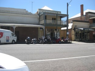 Beechworth, en route to the 2012 Rally
