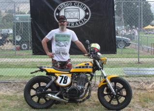 Andy Brebner and Flat Tracker Special, Bethanga 2011