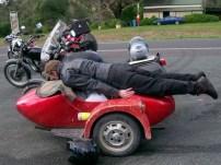 Some plonker, planking!