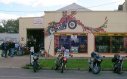 Finally arrived at Single Obsession Motorcycles, Seymour.