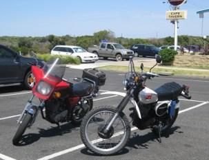 SR500 & XT500, Cape Paterson 2010