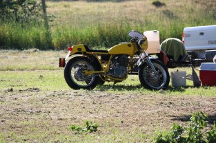 Paul Perry's SR500, Bethanga 2015