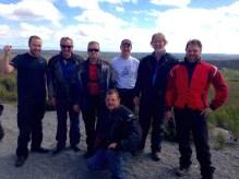 L-R: Ryan, Gary, Jeff, Matt (crouching), Craig, Drew, Brendan.
