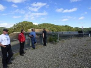 Craig, Brendan, Tony, and Ryan at Reece Dam, western Tasmania.