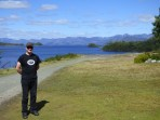 DAY 5: Spectacular view of Lake Pedder from Pedder Wilderness Lodge.